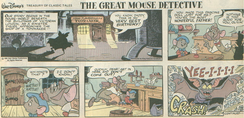Did not comic strip detective can help